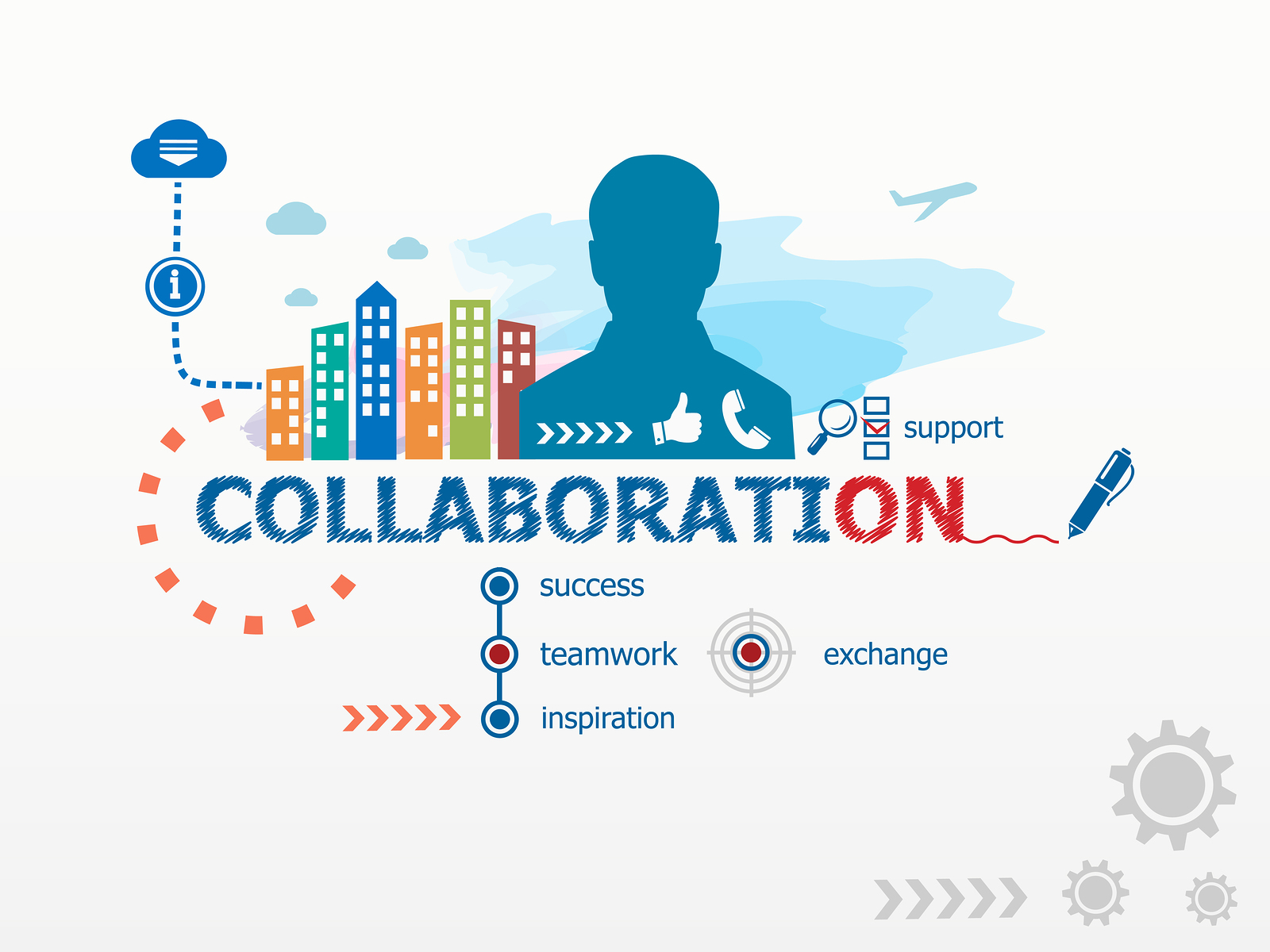 Collaboration Concept And Business